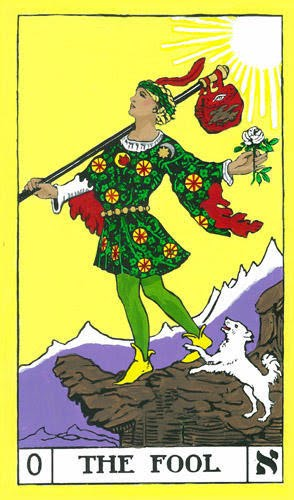 The Fool BOTA Tarot